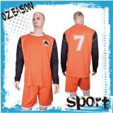 価格のサッカーのジャージーのゴールキーパーのワイシャツのフットボールのジャージー安いメーカー