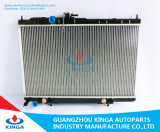 pour Nissans 2007 ensoleillé - réparation automatique de radiateur de réservoir en plastique en aluminium de faisceau de radiateur