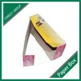 Caixa impressa costume do gelado pelo papel do produto comestível