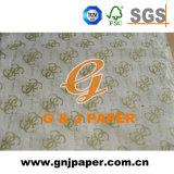14G wit Afgedrukt Verpakkend Papieren zakdoekje voor Gift