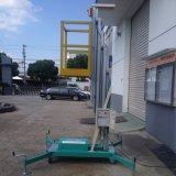 Capacidad 125 Kg antena móvil de plataforma de trabajo de elevación (altura máxima de 9m)