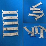 El uso de diferentes piezas de la maquinaria del CNC de aluminio