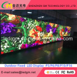 Publicidad exterior impermeable P10-SMD Pantalla LED RGB LED Display