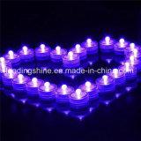 Mini vela de LED para decoração de casamento Chá de luz