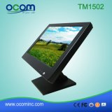 Moniteur lcd de contact du stand réglable 15 ""