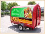 YS-FV300 multifunción móvil comida Remolque carro de la comi Cocina Remolque