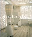 실내 Corian 디자이너 지면 서 있는 램프