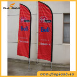 Bandierina esterna della piuma di promozione di evento/bandierina di spiaggia/bandierina di volo