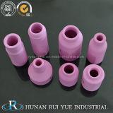 Bicos de cerâmica rosa de alta qualidade para torção de soldagem TIG
