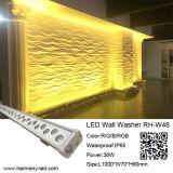Eclairage imperméable architectural IP 65 LED avec 36 * 1W RGB