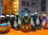 Caricatura de aves de felpa suave reflectante para regalo de promoción de juguetes