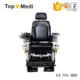Кресло-коляска электричества ширины места верхнего сегмента возлежа регулируемая