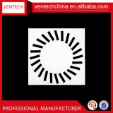 Система кондиционирования воздуха воздушного диффузора потолочные вентиляционные