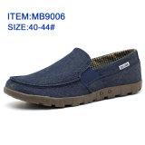 Новейшие мужчин пробуксовки колес на повседневная обувь Canvas обувь оптовая торговля настроить (МБ9006)