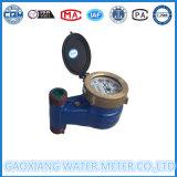Medidor de agua verticales de hierro fundido