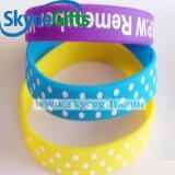Professionelles kundenspezifisches Gummisilikon-Armband für Förderung
