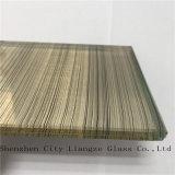 Vidrio del vidrio laminado/emparedado/gafa de seguridad del vidrio Tempered/con el espejo gris para la decoración