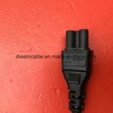 cable eléctrico aprobado negro del 1.8m PSE 7A 125V JP con IEC 320 C5