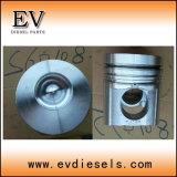 S6D108 S6d108e SA6d108e Juego de reacondicionamiento de la reconstrucción de la junta del cilindro de revestimiento del anillo del pistón Biela rodamiento cigüeñal