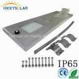 Capteurs de mouvement puissance solaire 100W l'Éclairage extérieur LED Smart Rue lumière solaire
