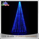 Estrutura da esfera exterior LED Branco Quente de design a luz da árvore de Natal