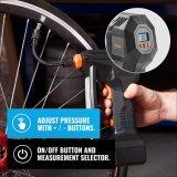 Insuflador do pneu para carro de portáteis com indicador incorporado