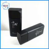 L'emballage cosmétiques personnalisée en usine le flacon en verre noir carré pour le Toner 130ml