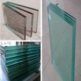 Accessoire clair en verre et de guichet de flotteur et glace décorative de construction