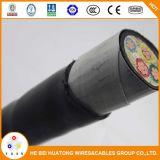 Venda a quente isolamento de PVC do cabo de alimentação com cabo subterrâneo blindados de fita de aço