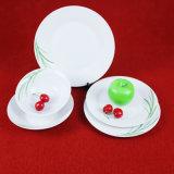 Piatti di pranzo di ceramica della porcellana su ordinazione