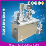 Machine de remplissage semi automatique pharmaceutique de capsule de gélatine de poudre