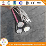 Grupo Huatong Hebei AA na UL-8000 Condutor de cobre/alumínio 780h resistente a raios UV Cabo de entrada de serviço 3/0 3/0 3/0 Digite se seu cabo de Serviço