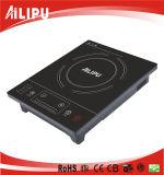 Alipu 2015 1 certificato dei CB del bruciatore 2000 Portable di watt salvo il fornello di induzione elettrica di controllo della trasparenza di energia