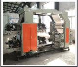 De Machine van de Druk van Flexo met Scherpe Machine Gealigneerd voor de Broodjes van het Document (gelijkstroom-YT600)