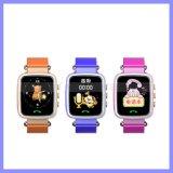 Kinder des Bildschirm-1.44inch, die intelligente Uhr-Handy GPS-Kind-Feststeller-Uhr aufspüren