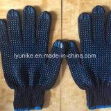 Черная строка из одного из ПВХ пунктирной перчатки