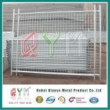 販売のための電流を通された一時塀のパネルか移動可能な金属の臨時雇用者の塀のパネル