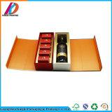 Cheap seule bouteille de vin Boîte en carton de papier spécial