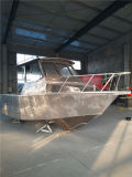 рыбацкая лодка алюминия 6.3m/алюминиевая шлюпка