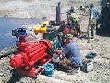 Pompe à eau diesel à haute pression de lutte contre l'incendie