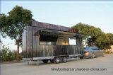 Kiosque d'aliments de plein air Design/camion alimentaire/aliments pour la vente de remorque