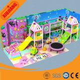 Candy Theme Kids Soft Play Patio de recreo interior para el parque de atracciones