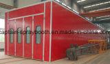Ультракрасная будочка брызга топления, промышленное оборудование для нанесения покрытия