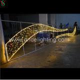 承認されるセリウムRoHS SAAが付いているLEDのクリスマスのモチーフの十字の通りの装飾的なライト