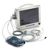 Ce keurde 12 Duim 6 Temperaturen ECG NIBP SpO2 Resp PR van de Monitor t/min-9000A van de Parameter de Geduldige voor Kliniek ziekenhuis-Candice goed
