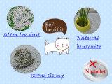 Lettiera della bentonite della natura con controllo eccellente di odore