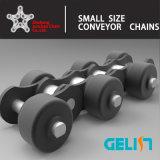 Chaîne de roue côté latéral de chaîne de rouleau de chaîne du convoyeur galvanisé pour l'alimentation