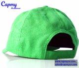 Surtidor verde del sombrero de béisbol del sombrero del papá de las lanas