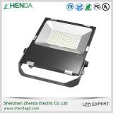 Indicatore luminoso di inondazione chiaro 80W del LED con l'alloggiamento di alluminio del riflettore