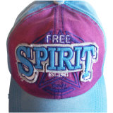 Chapéu do paizinho da cor contínua com logotipo agradável Gj1735g